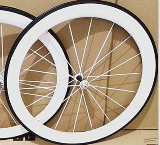 cheap price width 23mm chinese carbon clincher road bicycle wheelset 50mm paint white colour ceramic hub