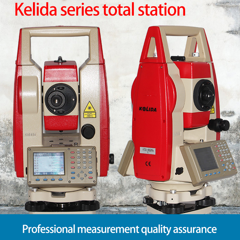 Nowy KTS-442R6L reflectorless total station 600 metrów