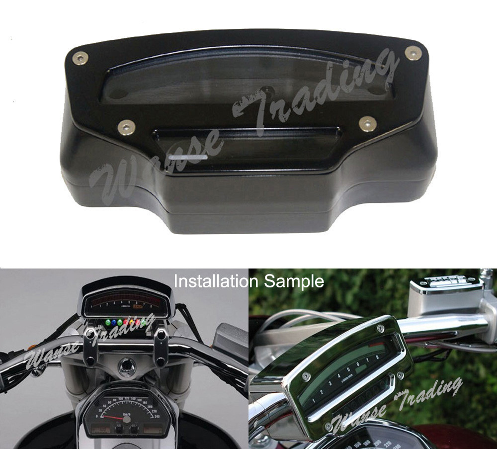 Motorcycle Tach Tacho Gauge Meter Housing Cover Black For 2006 2007 2008 2009 2010 2011 2012-2016 SUZUKI Boulevard M109R VZR1800 uxcell temperature range ac 250v 16a 3 terminals no nc temperature control capillary thermostat 50 300c 50 300c