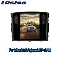 Liislee 2 din Android For Mitsubishi Pajero 2007~2018 Big Screen Car Multimedia Player GPS Navigation Radio Bluetooth Carplay