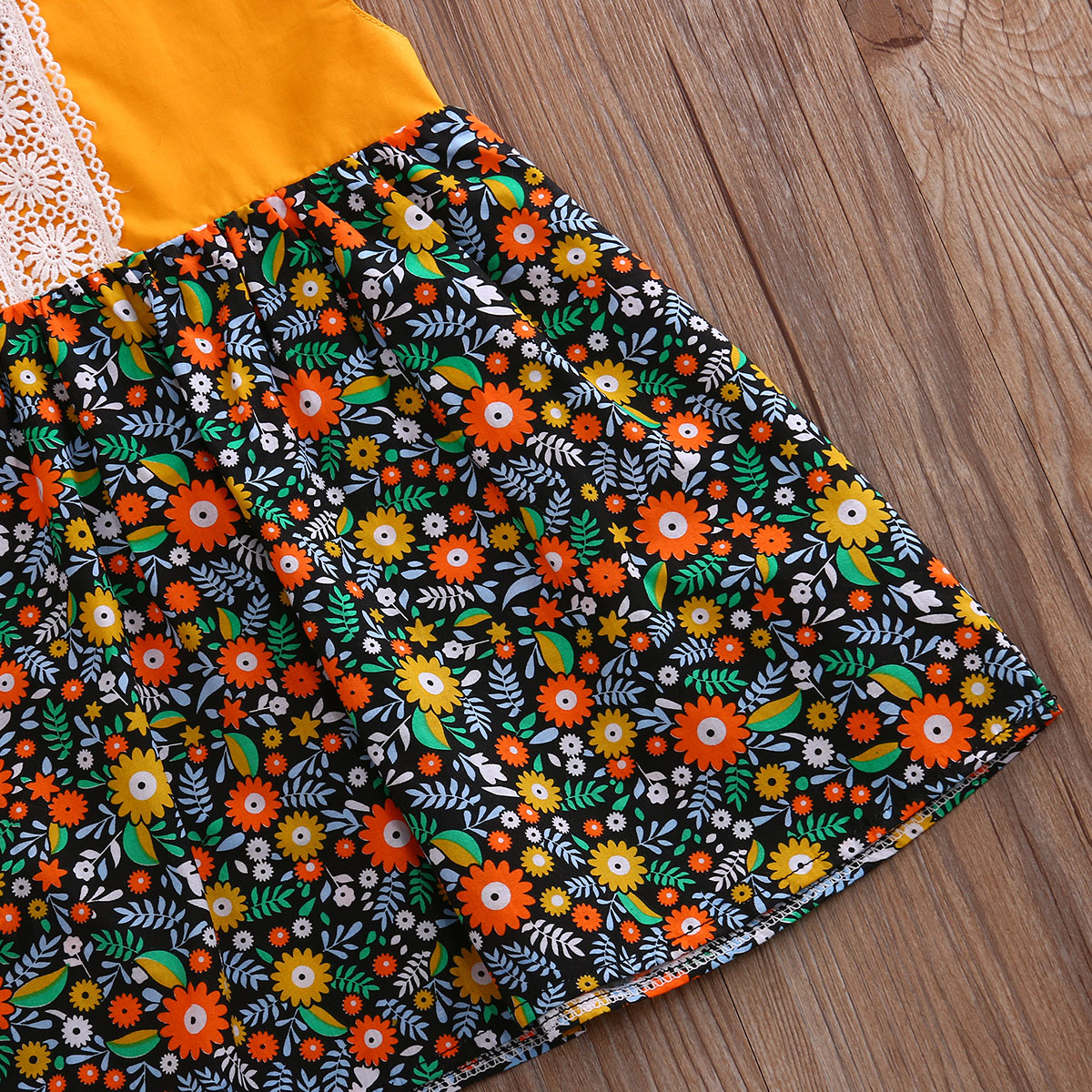 Bohemian-Floral-Toddler-Baby-Kids-Girls-Summer-Lace-Flower-Sundress-Party-Dress-Clothes-0-4T-3