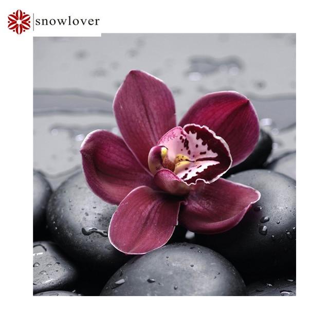 Diy алмаз живописи цветок полный алмазов вышивки крестом кристалл площади алмазов наборы незавершенного декоративные алмазов вышивки