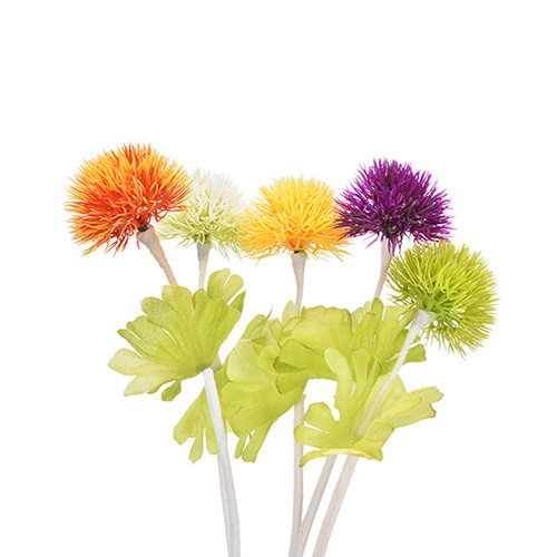Online shop 1pcs dandelion flower small thorn ball simulation image mightylinksfo
