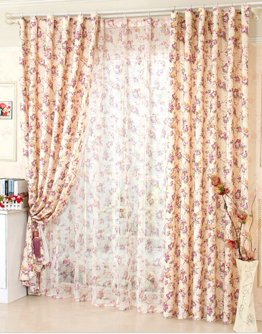 aliexpress buy window curtain for living room floral