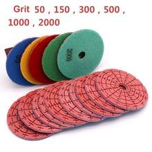 100mm Diamond Grinding Disc Dry Polishing Pad For Jade Marble Granite Floor Stone Polished Grinding Wheel Flexible Abravise Pad