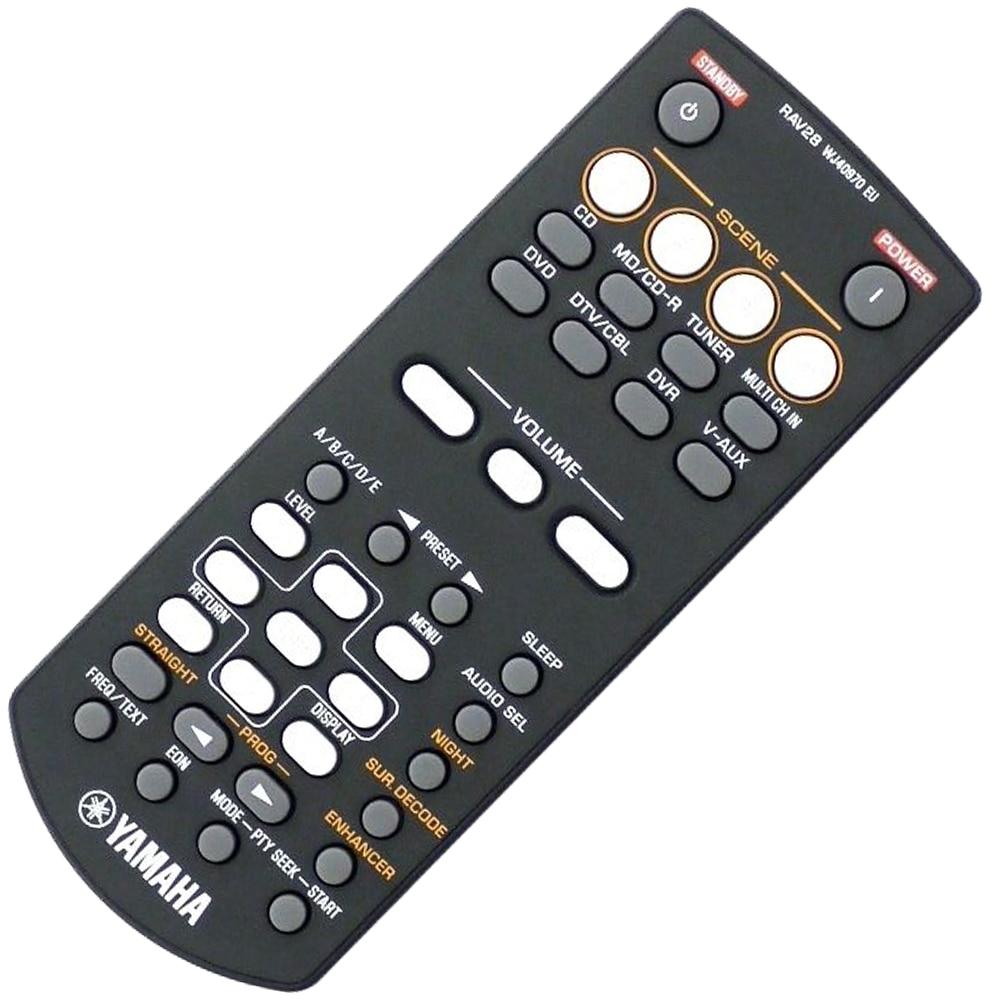 100% Original Remote Control For Yamaha RAV28 wj40970 eu RAV250 RX-V361 Home Theater Amplifier AV Receiver universal remote control suitable for yamaha rav22 wg70720 home theater amplifier cd dvd rx v350 rx v357 rx v359 htr5830
