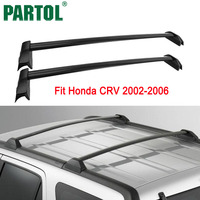 Partol Black Car Roof Rack Cross Bars Crossbar Roof Luggage Carrier Roof Rail 60KG 132LBS For