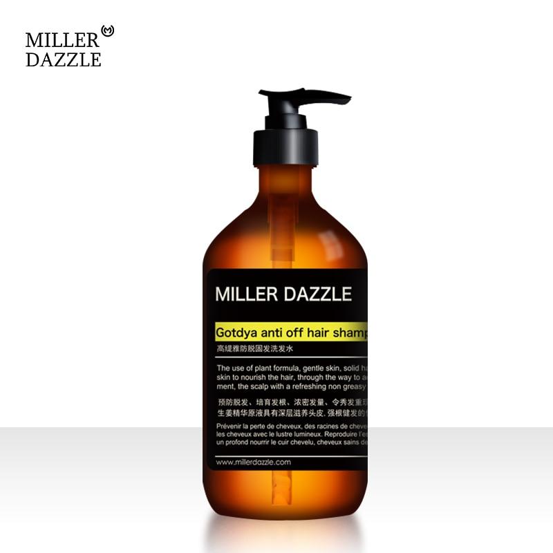 Men's Scalp Care Shampoo Ginger Anti-Hair Loss Shampoo/Hair Growth Shampoo Natural Old Ginger Hair Care Shampoo for Men 500ML