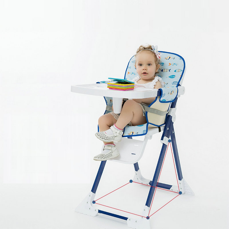 Baby Dining Table Chair Portable Multi-function Fold Baby Booster Seat no name накладка серпент