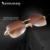 2017 Sem Aro Branco Chifre de Búfalo Óculos de Armação Homens Óculos De Sol Da Marca Carter SunglassesMen Óculos Buffalo Óculos de Sol de Lentes Cor de Rosa
