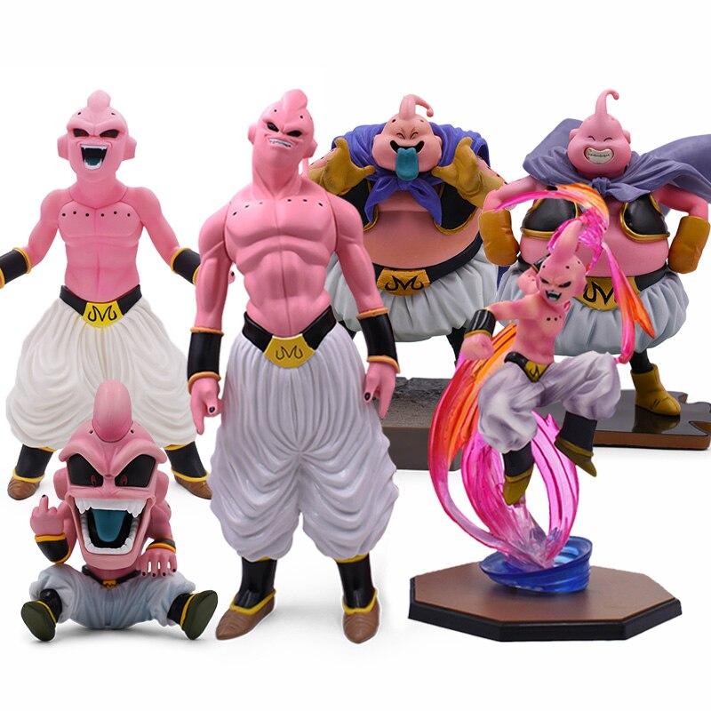 6 Style 12-44cm ZERO Majin Buu PVC Action Figures Dragon Ball Z Super Saiyan Dragonball Z Figure DBZ PVC Collectible Model Toys