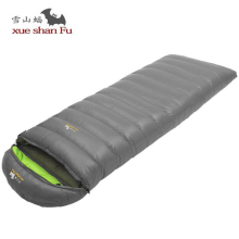 Portable Fill 400G 600G 800G Duck Down Ultralight Sleeping Bag Envelope Three Seasons 210CM Outdoor Camping Tourist