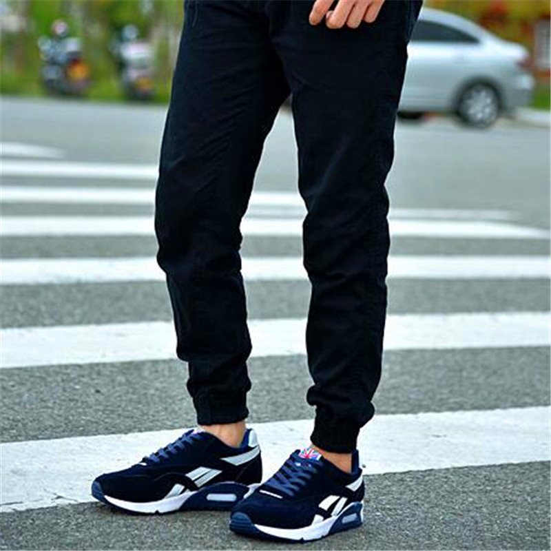 2019 suede cushion running breathable all seasons casual fashion men 39 s shoes in Men 39 s Casual Shoes from Shoes