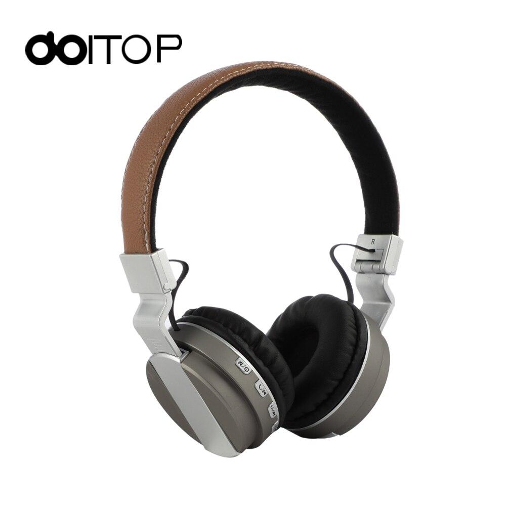 DOITOP BT-008 Bluetooth Casque TF Pliable Écouteurs Avec Micro Sans Fil Stéréo Musique Casque Pour PC Ordinateur Smartphones A3