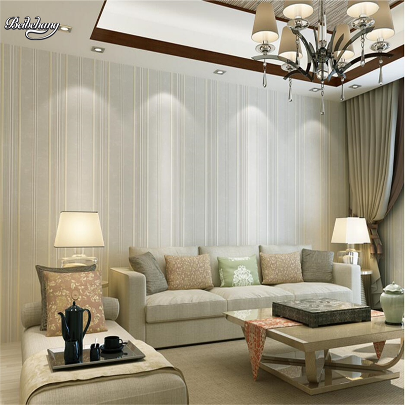 Online Shop Beibehang Modern Simple Dark Blue Vertical Striped Nonwoven  Fabric Wallpaper Living Room TV Wall Wallpaper Nostalgia | Aliexpress Mobile Part 79