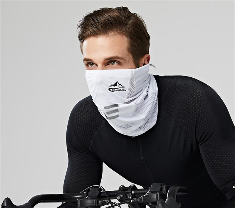 New Motorcycle Face Mask Sport Scarf Bike Bicycle Ice Fabric Face Mask Scarves Breathable Riding Bike Sport Running Headband in Motorcycle Face Mask from Automobiles Motorcycles