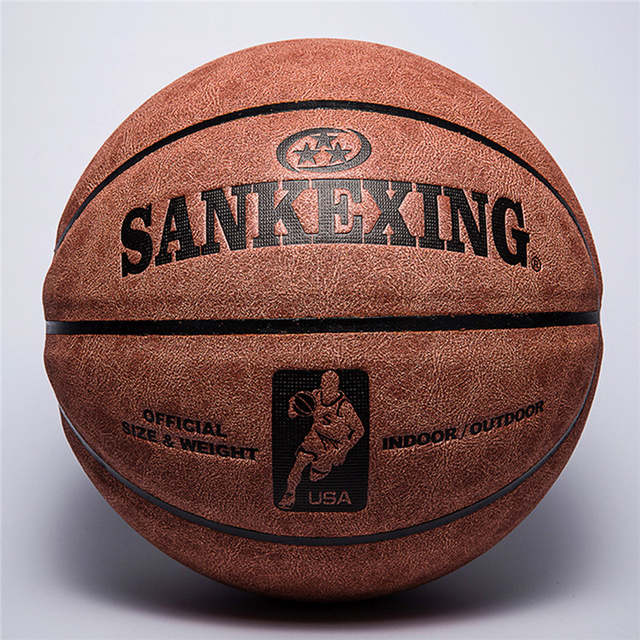77aeff192bc Online Shop SANKEXING Basketball Professional Basketball Ball Size 7 Leather  Indoor Outdoor Anti-slip Team Sports Ball for Men Fitnees Balls