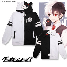 Cute Unicorn Dangan Ronpa monokuma thin Coat unisex hoodies sweatshirts