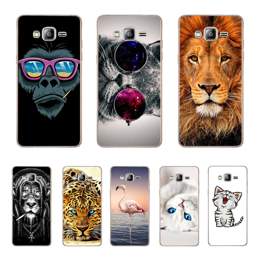 Phone Cases FOR Samsung Galaxy J3 6 2016 Case Silicone Cover FOR Fundas Samsung J3 J320 J320F Soft TPU Back Covers Couqe