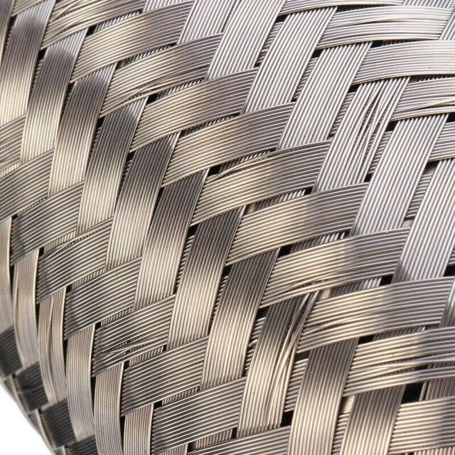 63*153mm samochód wydechowy Flex rury ze stali nierdzewnej spoiny elastyczne złącze rury do tłumik rury wydechowej akcesoria samochodowe
