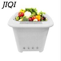 JIQI 4.5L Fruits Vegetable Washer Sterilizer Oxygen Ozonizer Food Detoxification Machine Dishes Bowls Cleaner Ozone Generator EU