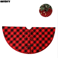 48 inches Christmas Tree Skirt Decorations Holiday Ornaments Decoration Xmas Party