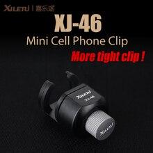 Высокое качество xiletu xj-46 mini сотовый телефон клип универсальный держатель из алюминиевого сплава горе стенд для мобильного телефона Ipad только 44,5 г