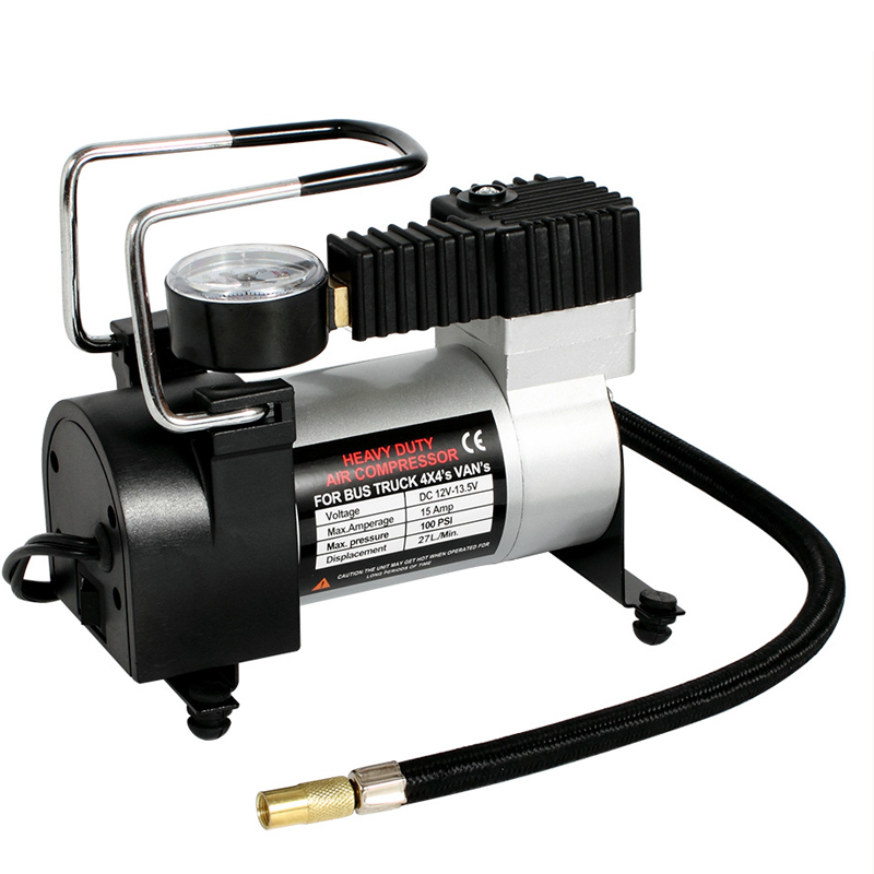 100psi Super Flow Automobile Car Air Compressor Dc 12v Auto Tire Inflator Portable Automotive