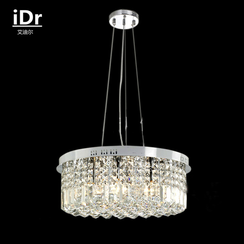 Manufacturers Wholesale Crystal Chandelier Lamp Living Room Lights Restaurant LED Height Adjustable IDr