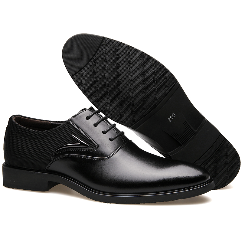 Super Luxo Homens Plano Marca Grande Da Couro Vestindo Black De Do Bimuduiyu Fibra Dos Britânico Negócios Básico Casamento Tamanho brown Formal Vestido Sapatos Suave q0tdAOwP