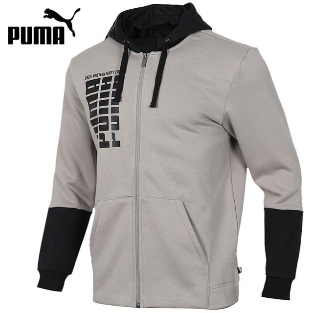 Original New Arrival 2018 PUMA Rebel Up FZ Hoody FL Men's jacket Hooded Sportswear