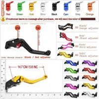CNC Clutch Brake Levers Set For Suzuki GSF 650 Bandit 2005 2006 Short Long Adjustable 2