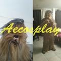 Nueva Halloween RARE Star Wars Chewbacca Disfraz Adulto Navidad Masco
