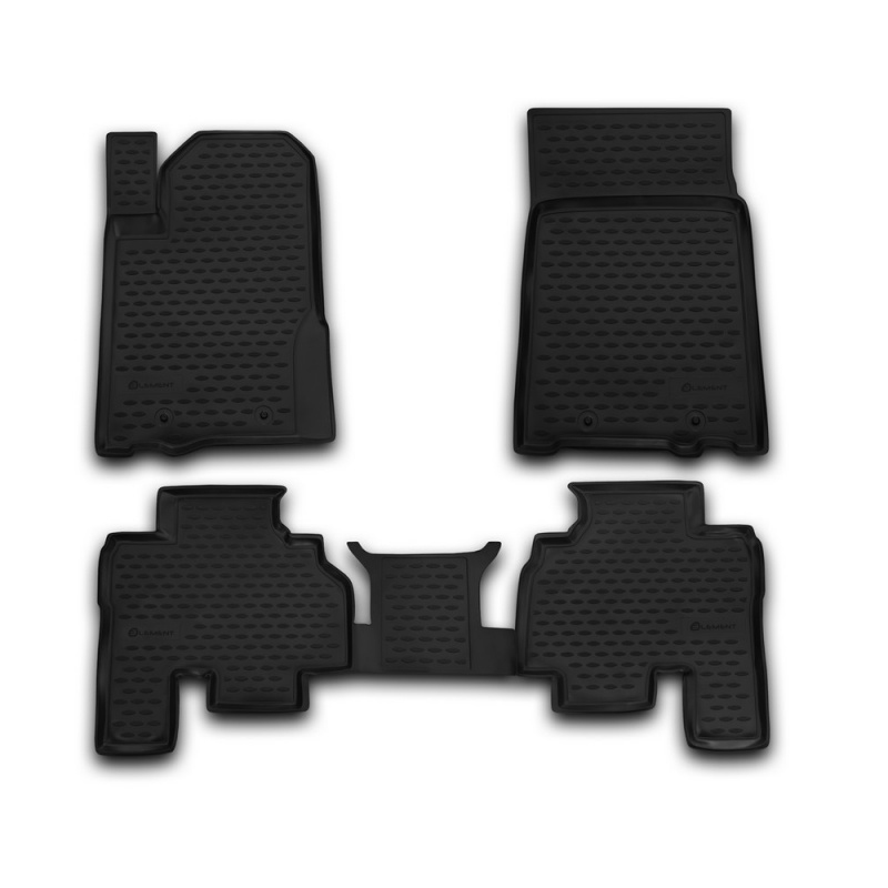 For Ssang Yong Kyron 2006- car floor mats carpets auto floor mat dust proof water proof car styling interior decoration