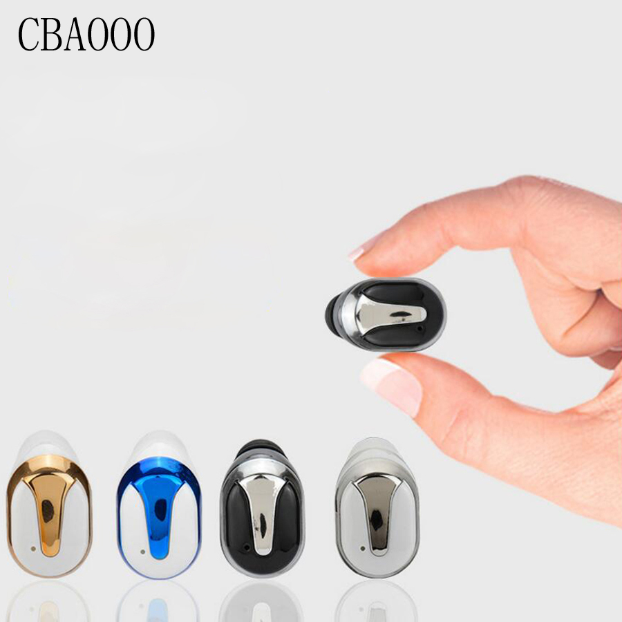 CBAOOO Mini Wireless Bluetooth Earphone With Mic Handsfree Bluetooth Earbuds Headset Earpiece IN-Ear Earphones for Mobile Phone ihens5 2 in 1 bluetooth earphone usb car charger adapter with mini wireless stereo headset handsfree with mic for cell phone