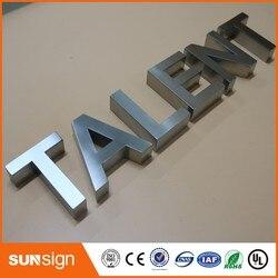 جدار جبل رسائل تسجيل ثلاثية الأبعاد رسائل الفولاذ المقاوم للصدأ