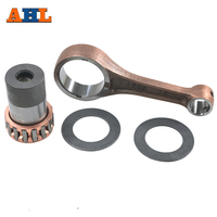 AHL Motorcycle Parts Connecting Rod CRANK ROD Conrod Kit For KAWASAKI KLX250 1992 2017 KLX300 1996 2007 KLX 250 300 131011253
