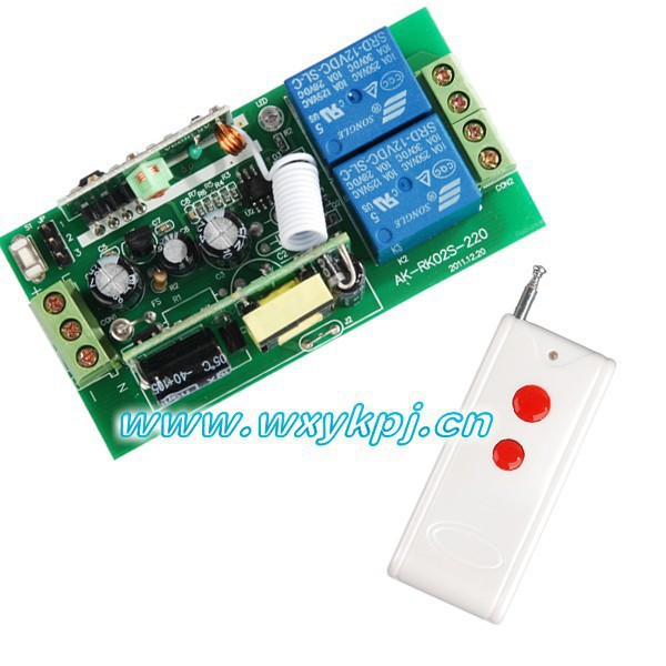 AC 85V-250V Wide Range Output RF wireless remote control system Receiver & Transmitter Smart home control system 85v 250v wide range output rf wireless remote control system 1 receiver