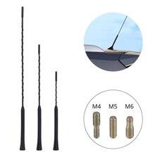 """3 śruby samochodowe uniwersalne anteny obejmujące wiele modeli 9 """"11"""" 16 """"samochód Auto antena radiowa samochód maszt bat dla BMW MazdaToyota Golf"""