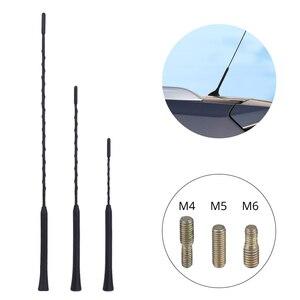 """Image 1 - 3 vidalı araba evrensel anten kaplama çoklu modeller 9 """"11"""" 16 """"araba otomobil radyosu anten araba direk kırbaç BMW için MazdaToyota Golf"""