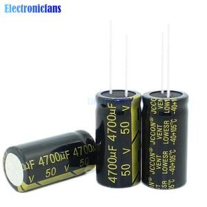 50V 4700uF 18X35mm Aluminium-elektrolytkondensator Hohe Frequenz Niedrigen ESR 50V4700uF 18*35mm durch Loch Kondensator