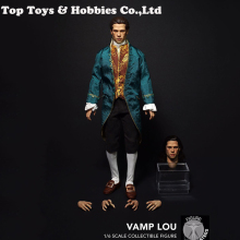 цена на The Vampire Chronicles 1/6 Louis de Pointe du Lac Brad Pitt action figure doll whole set Collectible Action Figure Doll