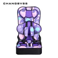 Sièges de sécurité de voiture d'enfant de bébé pour 6M ~ 12Y enfants voitures automatiques portables Sièges de chaise de coussin d'épaississement type pliables sièges d'appoint de voiture de bébé