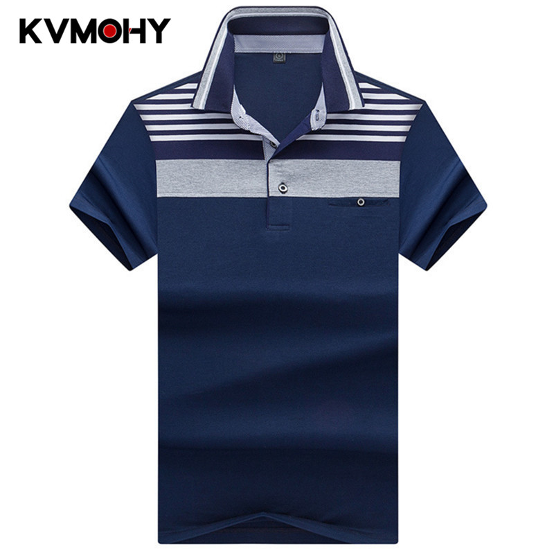 Polos   Para Hombre High Quality Tops&Tees Men's Knitted Striped Male   Polo   Shirts Fashion Style Short Sleeve Masculina   Polo   Shirt