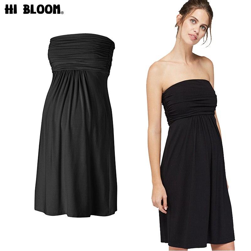 Привет Блум подарок для Для женщин Тенсел Для женщин S для беременных платье без бретелек Средства ухода за кожей для будущих мам Для женщин ...