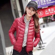 Womens Winter Jackets And Coats 2016 Real Solid No Zipper Thin Full Winter New Korean Fashion