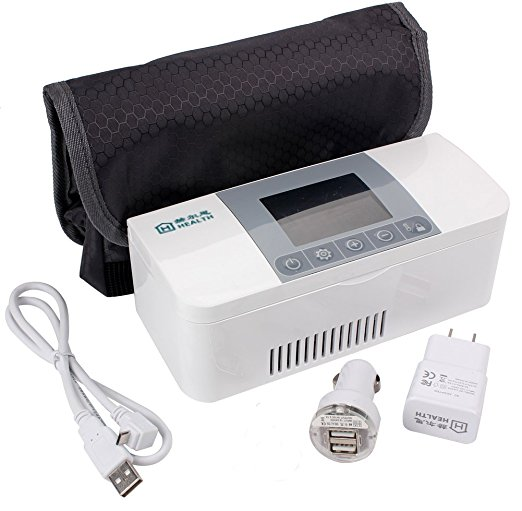 Home health care supplies, micro medical fridge, insulin/vaccine/interferon storing anywhere anytime, portable cooler все цены