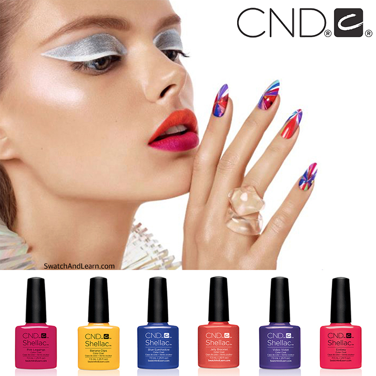 1pc Cnd Shellac Soak Off Nail Gel Polish Total 110 Colors the Best Gel Polish For Salon Nail Gel cnd creative play gel 493 aquaslide