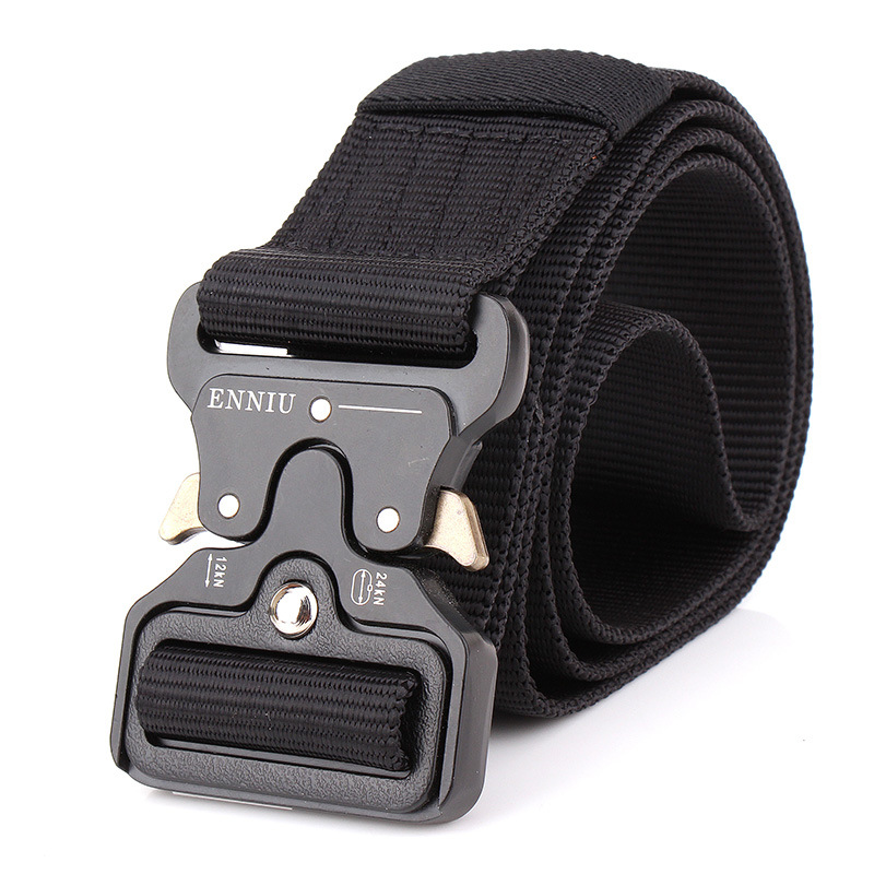 Apparel Accessories Swat Combat Military Equipment Tactical Belt Men 1000d Nylon Metal Buckle Knock Off Belts Us Army Soldier Carry Waist Belt 4.3cm Removing Obstruction