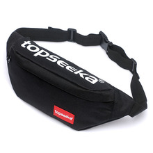 Wholesale 2019 Canvas Waist Bag Women Men Belt Casual Fanny Pack For Travelling Phone Bags New Style Mini